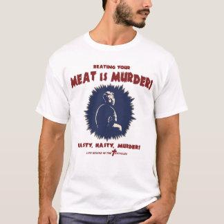 T-shirt … la viande est meurtre