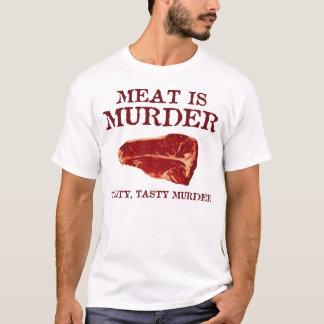 T-shirt La viande est meurtre savoureux