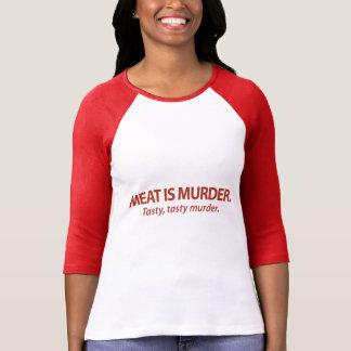 T-shirt La viande est meurtre… savoureux, meurtre