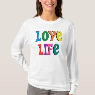 T-shirt LA VIE D'AMOUR ! message chrétien personnalisable
