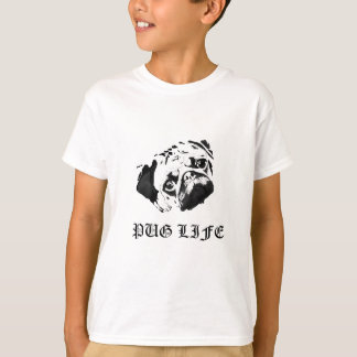 T-shirt La vie de carlin