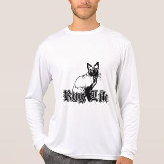 T-shirt La vie de couverture - chat de Gangsta