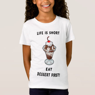 T-Shirt La vie de dessert