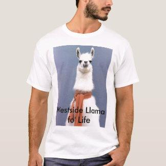 T-shirt La vie de fo de lama de Westside