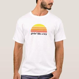 T-shirt La vie de Givin un essai