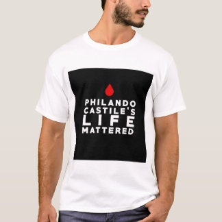 T-shirt La vie de la Castille de Philando a importé