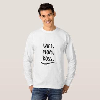 T-shirt La vie de maman d'épouse de mère de Wifey de
