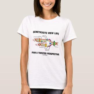 T-shirt La vie de vue de généticiens d'une perspective