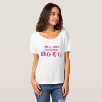 T-shirt La vie d'épouse