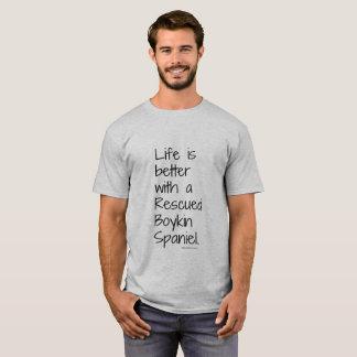 T-shirt La vie des hommes est une meilleure pièce en t de