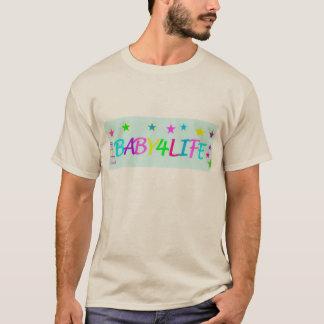 T-shirt La vie du bébé de bleus layette 4
