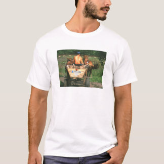 T-shirt La VIE EST 2W TROP COURT