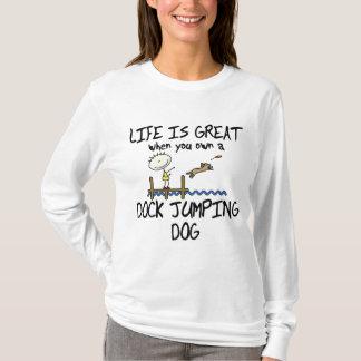 T-shirt La vie est grand sauter de dock