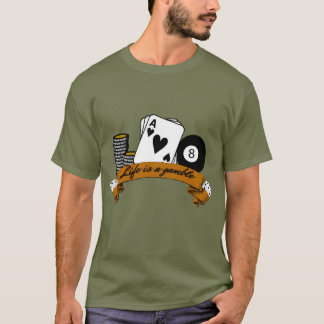 T-shirt La vie est un jeu