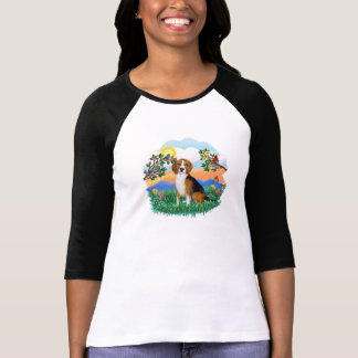 T-shirt La vie lumineuse - beagle 4