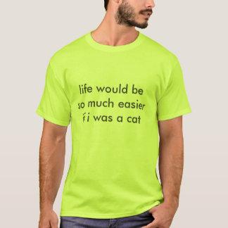 T-shirt la vie serait