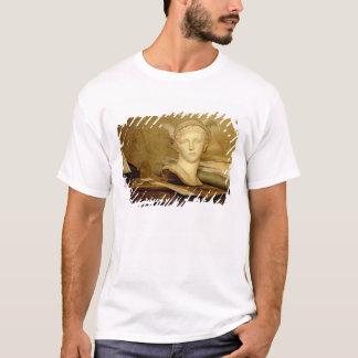 T-shirt La vie toujours avec des attributs des arts,