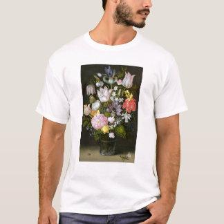 T-shirt La vie toujours avec des fleurs