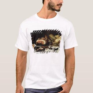 T-shirt La vie toujours avec du jambon