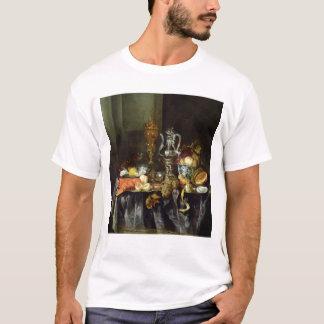 T-shirt La vie toujours avec le fruit et les mollusques et