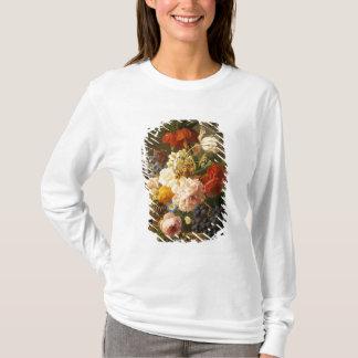 T-shirt La vie toujours avec les fleurs et le fruit, 1827