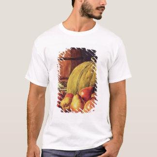 T-shirt La vie toujours avec les poires, le melon et le