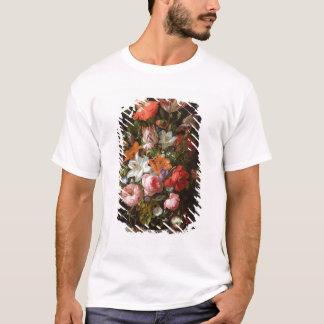 T-shirt La vie toujours des lis de roses, tulipes