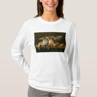 T-shirt La vie toujours des oiseaux morts et d'un lièvre