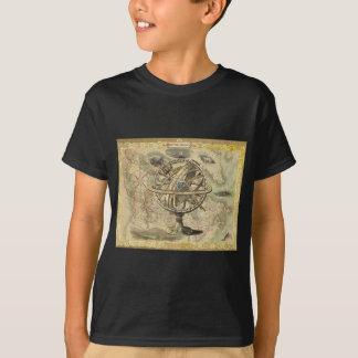 T-shirt La vieille Amérique britannique explorent la carte