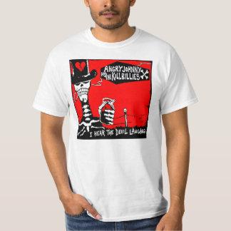 T-shirt La vieille Éraflure-Je entendent rire de diable