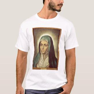 T-shirt La Vierge pleurant (huile sur la toile)