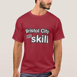 T-shirt La ville de Bristol sont compétence