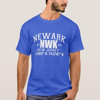 T-shirt La ville de NEWARK incorporée coordonne la pièce