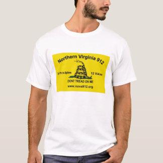 T-shirt La Virginie du nord 912 - drapeau de Gadsden