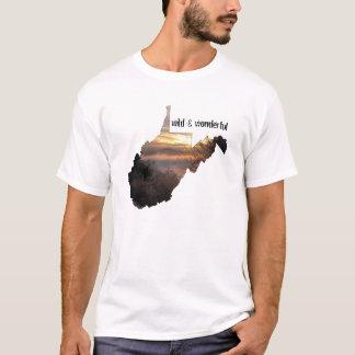 T-shirt La Virginie Occidentale, sauvage et merveilleux