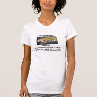 T-shirt La vision de l'énergie de la Californie,