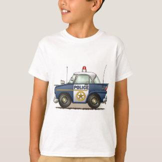 T-shirt La voiture de cannette de fil de Crusier de police