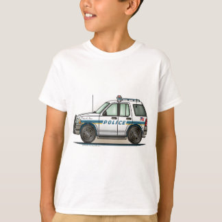 T-shirt La voiture de cannette de fil de voiture de