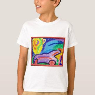 T-shirt La voiture de Frankie