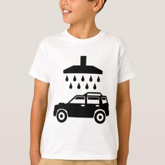 T-shirt La voiture était vecteur de b/w