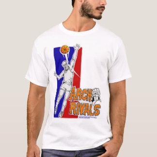 T-shirt La voûte rivalise la pièce en t d'équipe