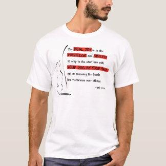 T-shirt La vraie joie de l'agilité