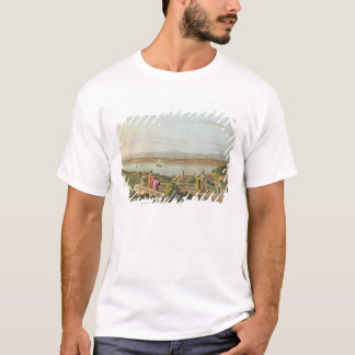 T-shirt La vue de Constantinople, plaquent 1 des 'vues