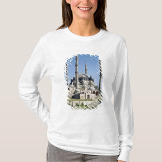 T-shirt La vue de la mosquée, tabouret, a construit