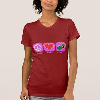 T-shirt La Zambie d'amour de paix