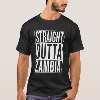 T-shirt la Zambie droite d'outta