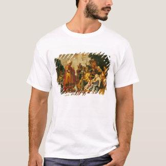 T-shirt Laban recherchant les idoles