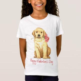 T-Shirt Laboratoire de jaune de rose de Valentine