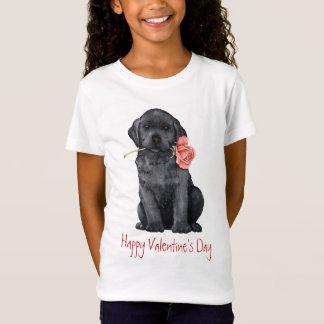 T-Shirt Laboratoire de noir de rose de Valentine