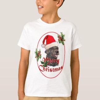T-shirt labradoodle le père noël